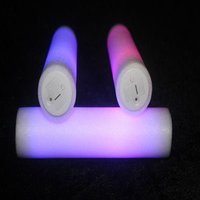 "16"" color change Led Foam Glow Stick with push button"