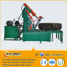 high output rubber tire recycling machine/used grinding equipment