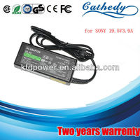 laptop ac adapter for SONY 19.5V3.9A dc 6.5*4.4mm computer parts and accessories replacement
