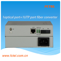 OEM 3 Years Warranty 1 Port GE UTP Fiber Transceiver Media Modem