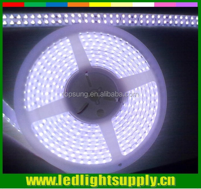 Low voltage SMD3528 high intensity IP65 waterproof continuous length flexible led light strip