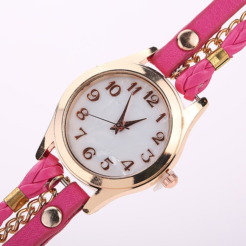 Wholesale High Quality Women Leather bracelet Wrist Watches cheap ladies Vintage Quartz Analog Watch <strong>001</strong>