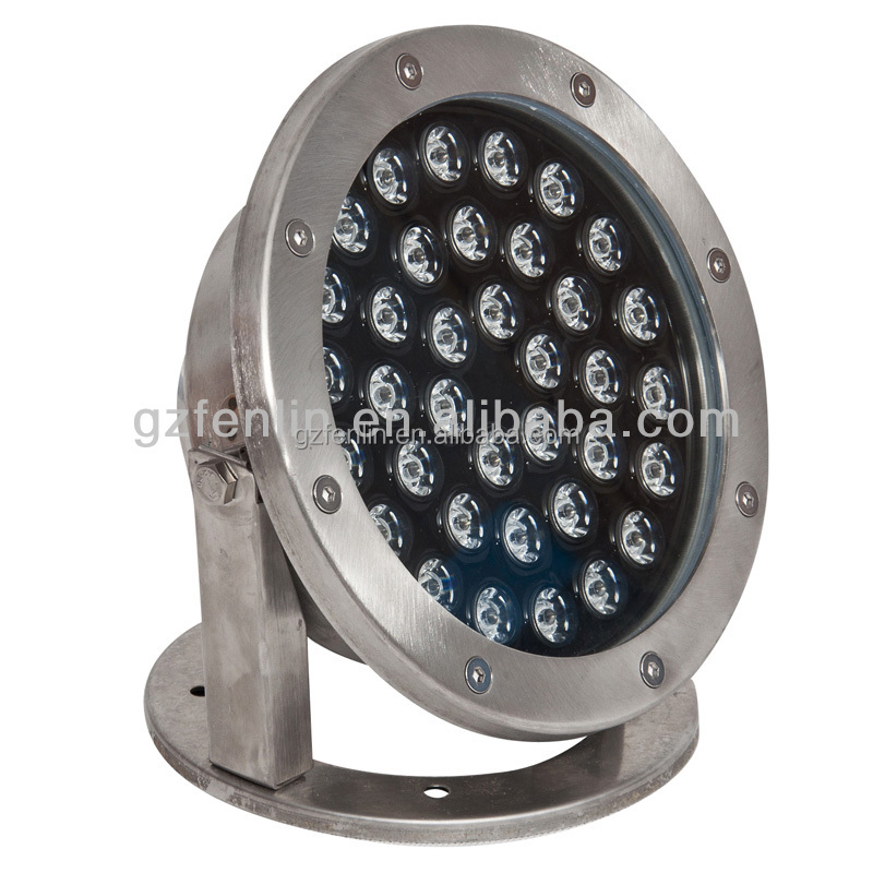 IP68 304 /316Stianless steel LED waterproof Underwater fountain Light for fountain