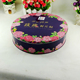 High Quality Round Cookie Tin Biscuit Tin Box Cake Tin Can