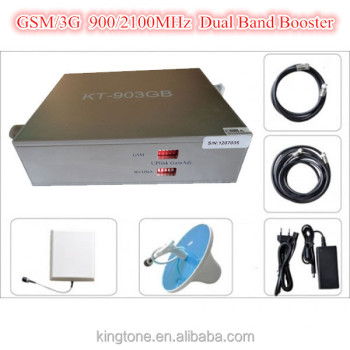 Indoor Signal GSM 3G Cell Phone Booster Dual Band Pico Repeater