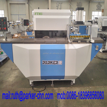 Aluminum profile end milling machine for T shape mullion in window door curtain wall