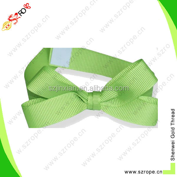 Grosgrain Packing Bow with double faced adhesive tape