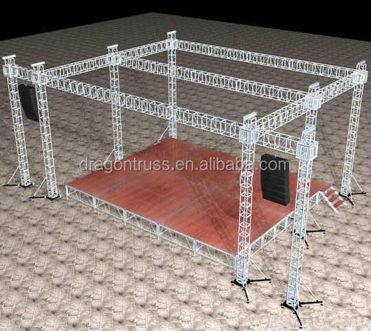 Portable Stage Equipment DJ Truss System
