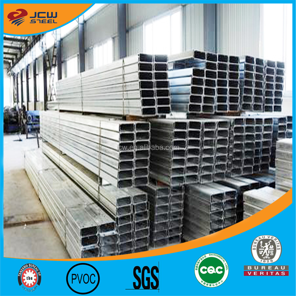 C Channel Standard Size/High Quality C Beam