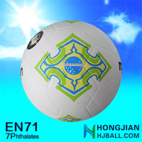 2015 smooth soccer balls NO.5 official size and weight soccer ball football for sale