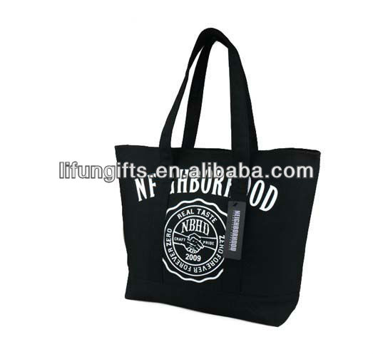 2017 Black Shopper Budget and Convention Tote Bag