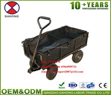 Durable Steel Mesh Cart Garden Cart Garden Wagon TC1840