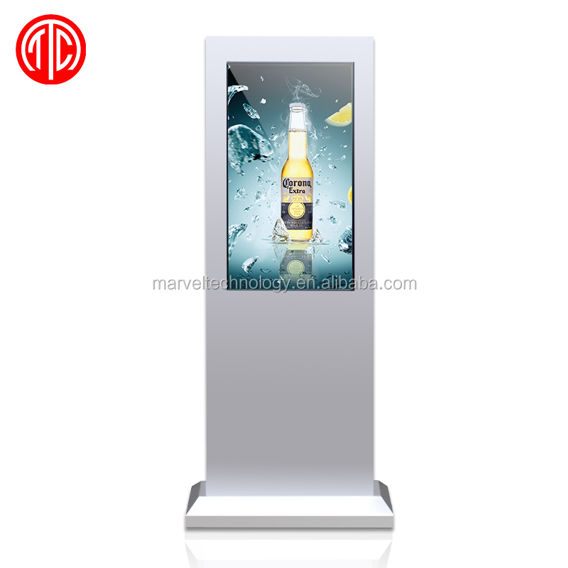 Stainless steel outdoor digital signage factory direct sale