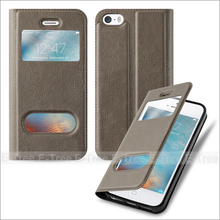 Bookstyle Flip Cover Leather Phone Case For Apple iPhone 5 5s SE, For iPhone Leather Case