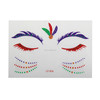Beautiful angel eye sticker glitter shiny face sticker temporary full face sticker