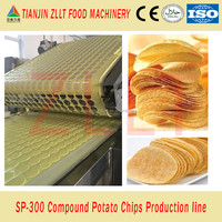 Pringles potato crisps production line