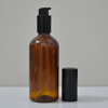 New product to sell empty colored cosmetic glass bottle 100 ml