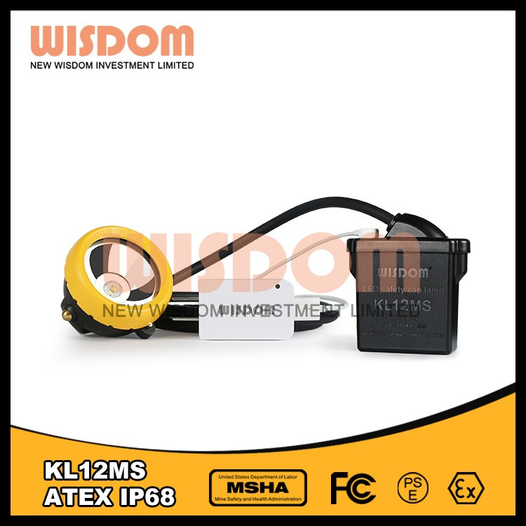 Wisdom KL12MS carbide mining lamps