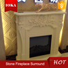 cheap decorative curved gas fireplace