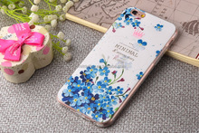 Wholesale fashion cell phone case customized 3D embossed pattern colorful printing plastic phone shell for iphone 7 4.7''