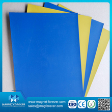customized flexible sheet rubber magnets