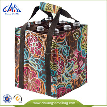 New Selling Simple Design Customized Printed Gift Wine Bottle Bags