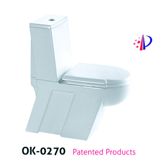 ceramic two piece toilet