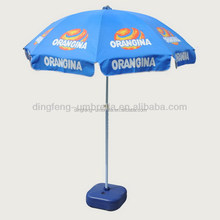Very popular outdoor furniture sun umbrellas logo printed parasols manufacturing