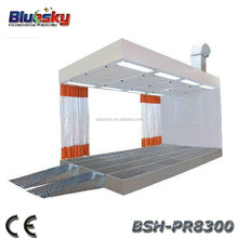 BSH-PR8300 CE and ISO approved simple paint booth/painting auto/car paint shop
