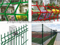 High Quality Hot Sale PVC Coated Galvanized Bending Welded Wire Mesh Fence(ISO9001;Manufacturer)