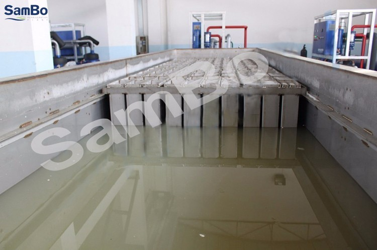 Sambo 2T CE Containerized Ice Block Making Machine For Sale