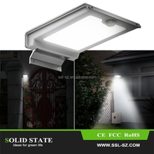 2017 best selling products PIR motion sensor solar lights for outdoor garden
