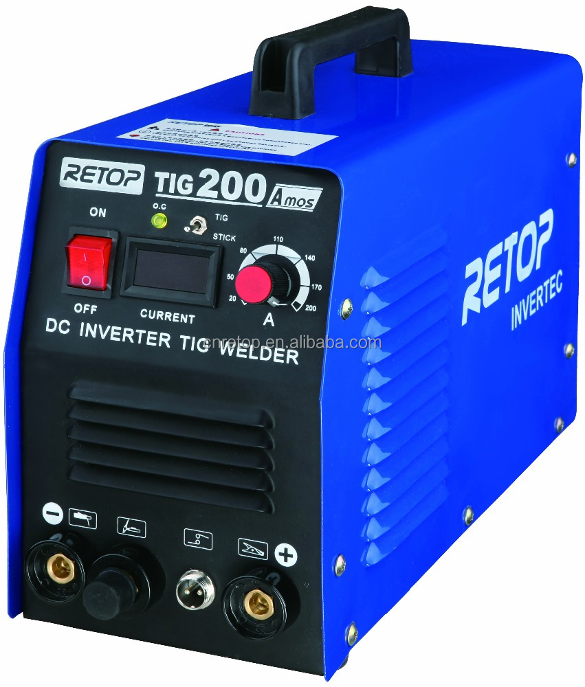 Digital cotrol semi automatic DC TIG/MMA Welder TIG-160A machine welding