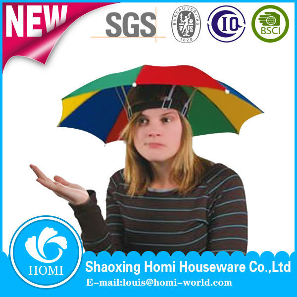 Promotional Cheap Hat Umbrella/Regenschirme/Parasol