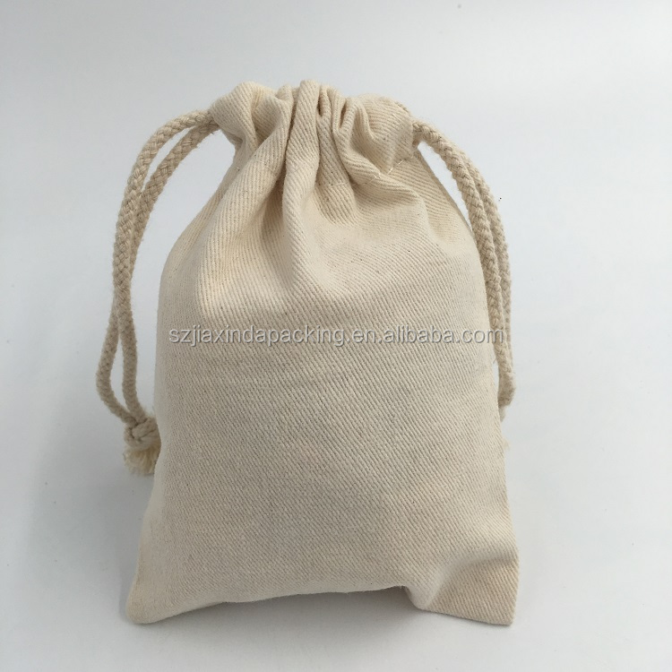 Wholesale Organic Cotton Drawstring Gift Bag