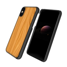 Newest ultra thin wooden PC cell phone case for iPhone 8