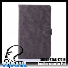 New Arrival crazy horse leather hot selling 10 inch tablet cases For Samsung
