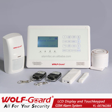 OEM ODM home security of gsm of alarm of system instruction in the Russian