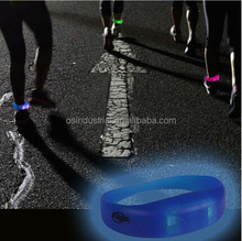 Custom Event & Party Supplies LED sound activated Flashing silicone bracelets