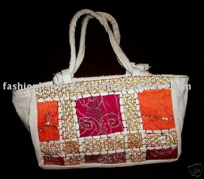 Indian Handcrafted Decorative Patchwork Women Handbag