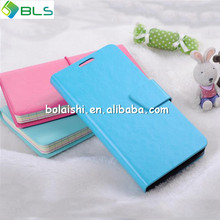 Hot sell for nokia lumia 520 pu leather flip case