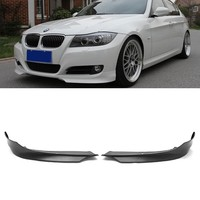 FOR 2009-2011 BMW 3 Series E90 LCI Style Front Splitter Lip Spoiler 2Pcs LH RH