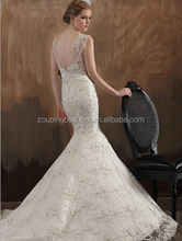 High-end custom!The new 2015 Europe and the United States, France lace package hip mermaid strapless gown with sexy condole of c