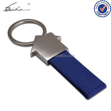 CHEAP WHOLESALE HOUSE SHAPE KNITTED KEYRING DYNAMIC ROPE KEYCHAINS
