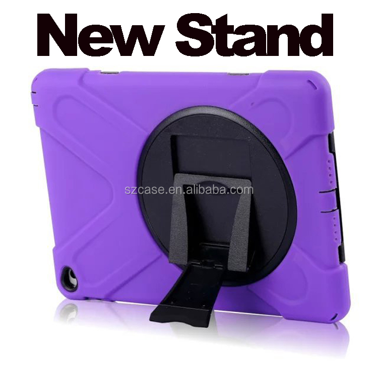 Fashion Stand Design Silicone tablet case for Ipad 4 Shockproof Stand Style Case