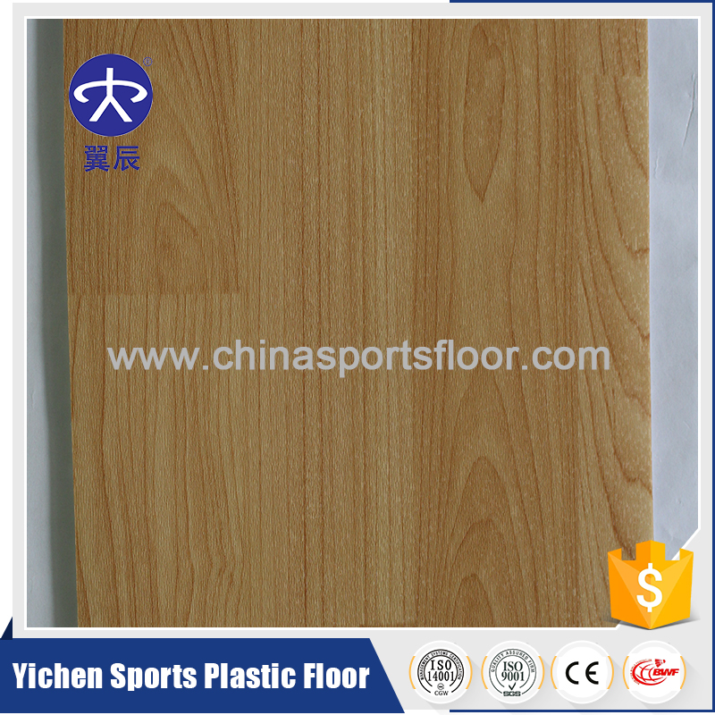 Top Sale China Factory Supply Indoor PVC Sports Plastic Basketball Flooring For Basketball Court