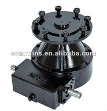 gearbox reducer, worm gear box for pivot irrigation, agriculture