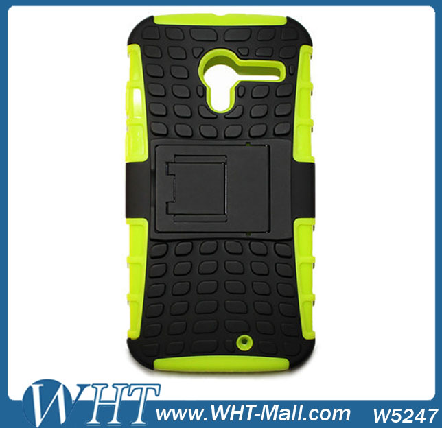 OEM Factory Custom Wholesale Hybrid PC Silicone Back Case Tablet Cover For Moto X / Motorola X Phone Case