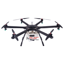MMC SWIFT Carbon Fiber Frame 6 Axis Heavy Load 10kg Professional Agriculture Spray Drone UAV, Flying UAV Drone Crop Sprayer