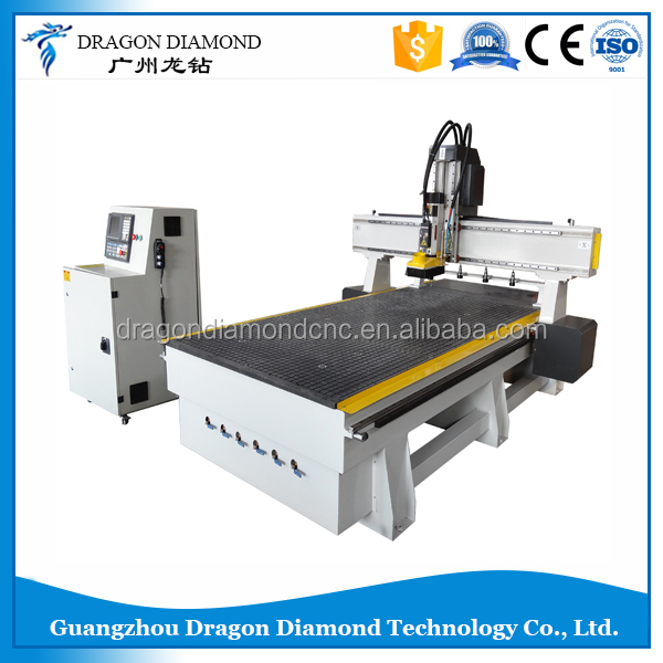 CNC Automatic Tool Change Wood Working CNC Router CNC change the knife automatically LZ-1325T